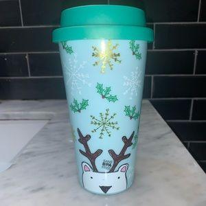 Travel mug Free BPA SNOWY 750 ml (in plastic)